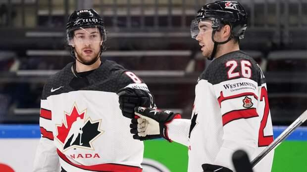 Канада разгромила сборную Италии на ЧМ, забросив 7 шайб