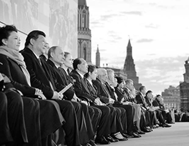 Пять лет назад на параде в честь 70-летия Победы