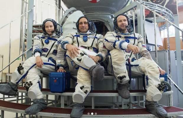 Юлия Пересильд прокомментировала свою подготовку к полету в космос