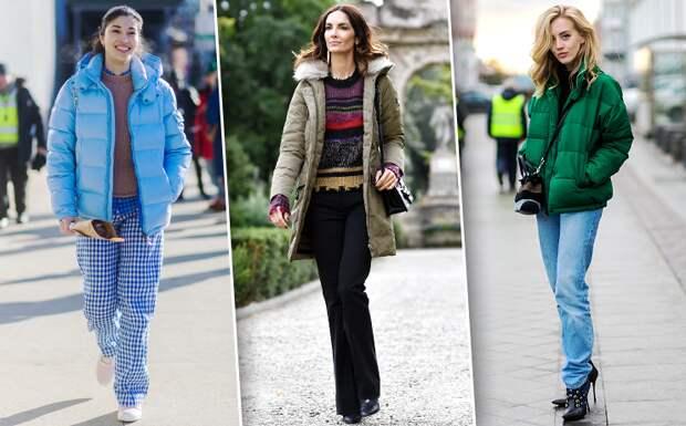 Как носить пуховик ивыглядеть стильно: 20 модных идей длятебя