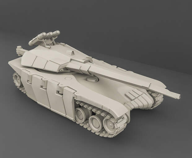 ВО: Украина отказалась от создания превосходящего «Армату» танка «Тирекс»
