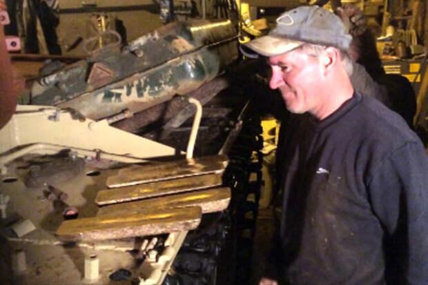 Как встаром советском танке нашли золотые слитки