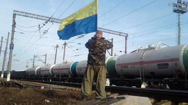 Украинских радикалов убедили снять блокаду железной дороги в Россию