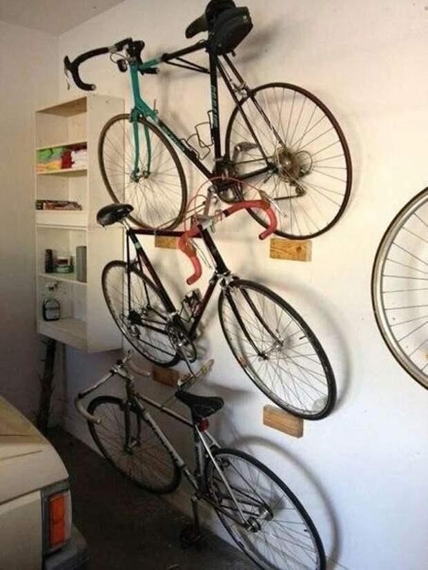 Способ хранения велосипедов