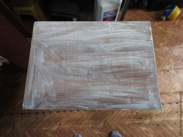 перекраска стола