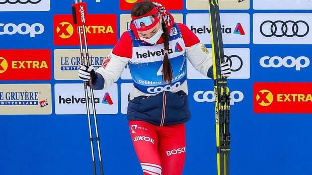 Русская лыжница зажгла на церемонии награждения «Тур де Ски»: видео