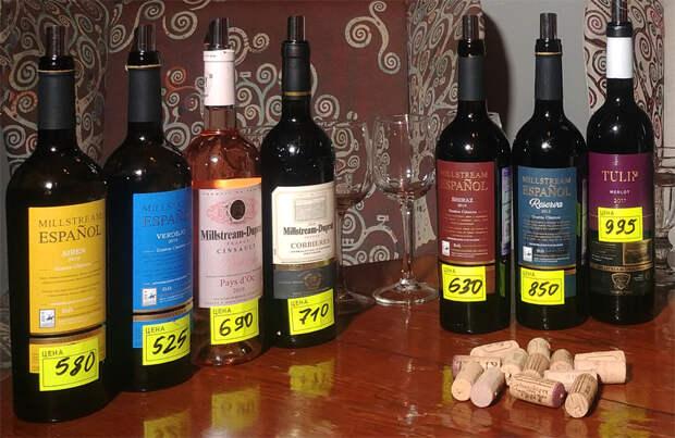 Скидка на испанские и французские вина в сети Мильстрим!