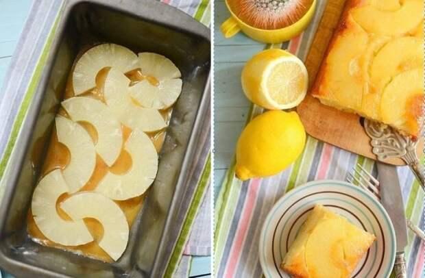 Божественный пирог с консервированным ананасом. Готовится элементарно!