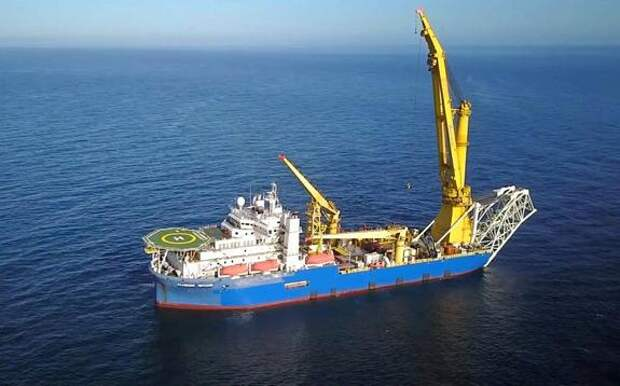 ТУС «Академик Черский» за минувшие сутки уложило 680 м трубы нитки «А», осталось проложить менее 70 км