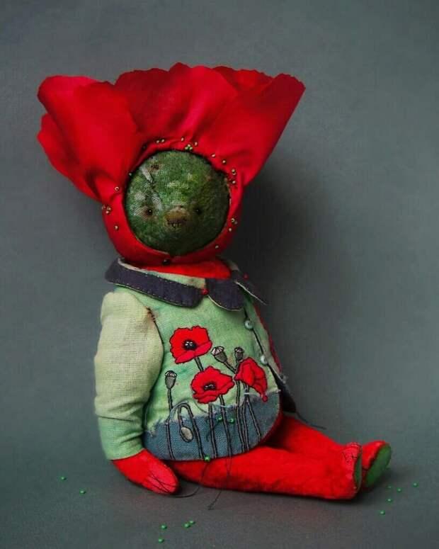 «Овощные зайцы» и «цветочные мишки» Татьяны Паранчук не похожи на игрушки, которые я видела раньше