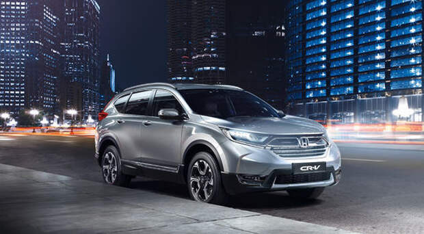 Новая Honda CR-V доехала до России