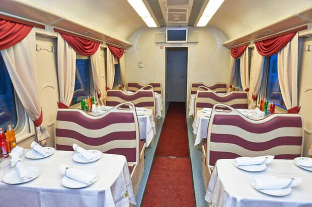 Скатертью дорожка: как работают вагоны-рестораны