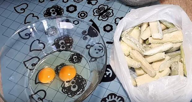 кабачки в духовке фото