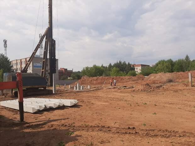 Физкультурно-оздоровительный комплекс на улице Ухтомского в Ижевске откроют летом 2021 года