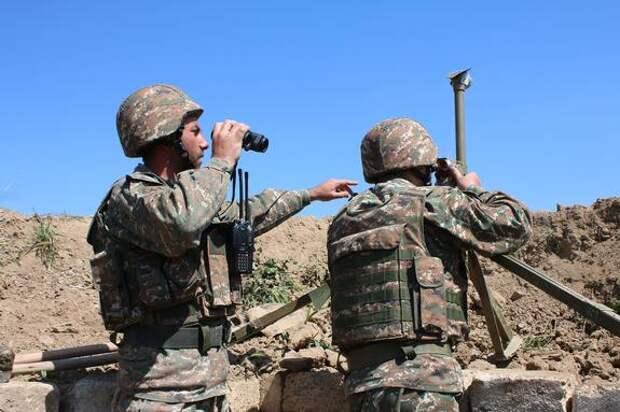 Азербайджан направил дополнительные силы на ранее захваченный им участок армянской территории