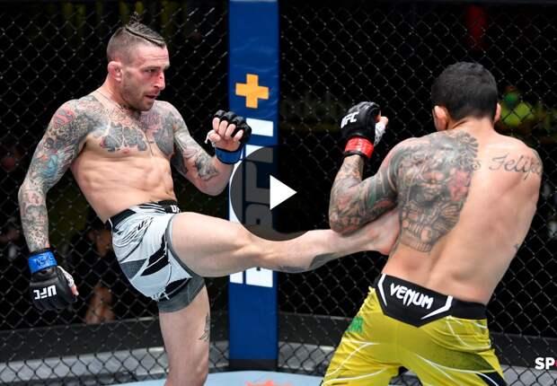 UFC Вегас 26: Диего Феррейра (Бразилия) vs Грегор Гиллеспи (США)