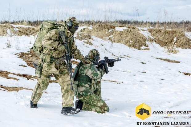 Спецназ - Боевые действия в горно-лесистой местности