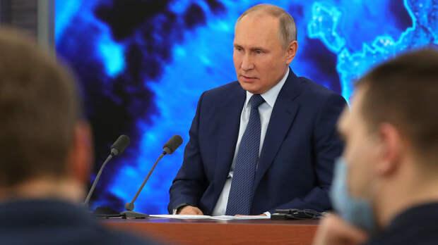 Журналист BBC покинул зал после ответа Путина