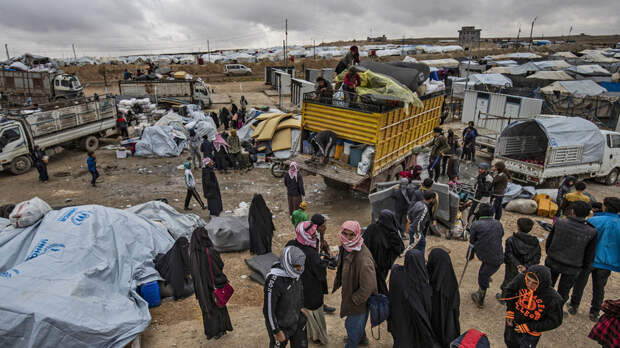 Россия призывает мировое сообщество спасти детей из лагеря в Сирии