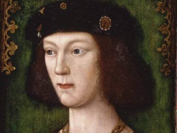 Портрет молодого Генриха VIII