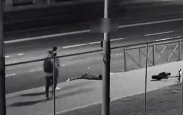 В сети появилось новое видео с падением солиста Мариинского театра с электросамоката
