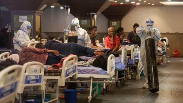 Количество умерших от COVID-19 в Индии за сутки вновь превысило максимум