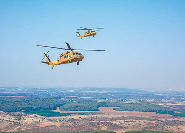 Израильтяне испытали вертолетную систему предупреждения столкновения в воздухе