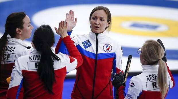 Женская сборная России по керлингу вышла в финал чемпионата мира
