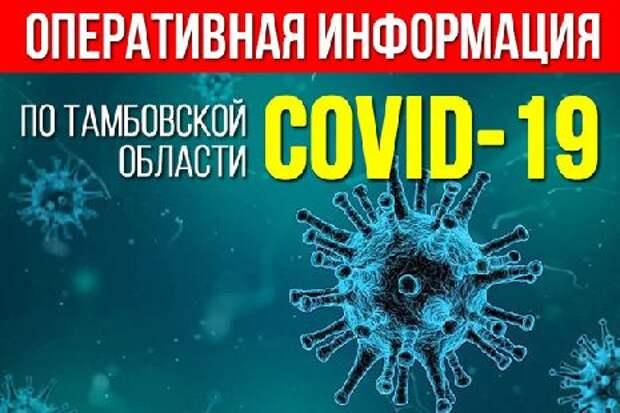 В Тамбовской области зафиксирован спад заболеваемости коронавирусом