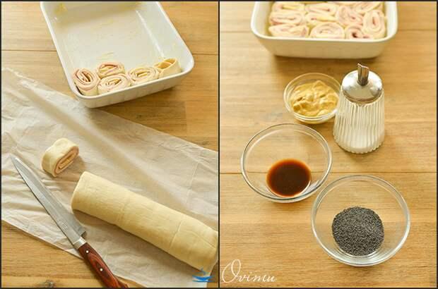 Закуска: сырная улитка