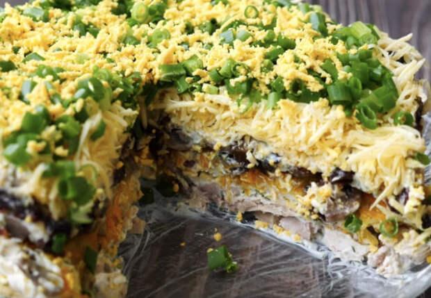 Осенний лес: салат вкуснее оливье