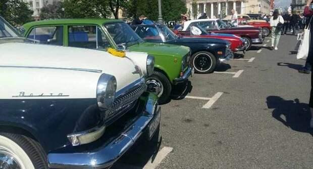 В Москве состоялись очередные ретро-ралли