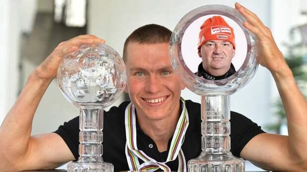 Тренер сборной России Крамер предложил норвежцам нарисовать Большунова в каждой комнате дома