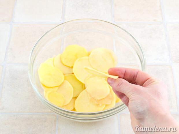 Картофельные чипсы — 1 шаг