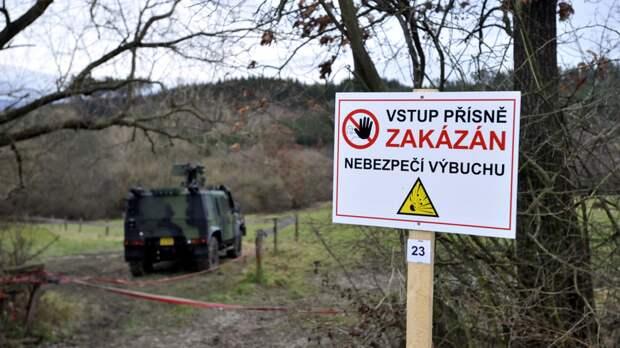 В Чехии отказались раскрывать данные о расследовании взрыва во Врбетице