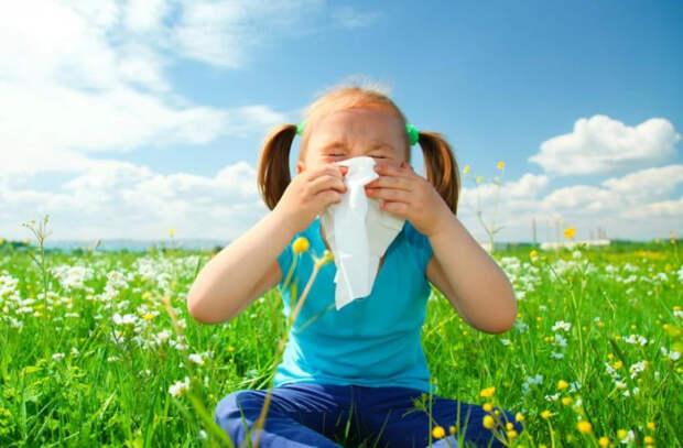Весенние аллергии у детей