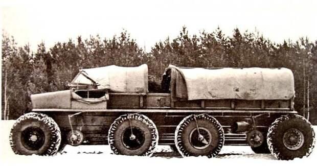 Длиннобазный макетный образец Э134 с разнесенными крайними колесами  история, ссср, факты