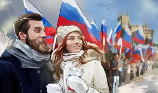 Россия будет возвращаться на свои исторические земли