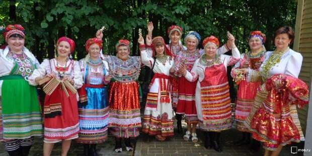 Мордовский праздник. Фото: mos.ru