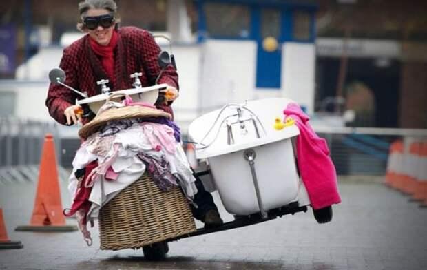 Необычный транспорт, попавший в Книгу рекордов Гиннеса