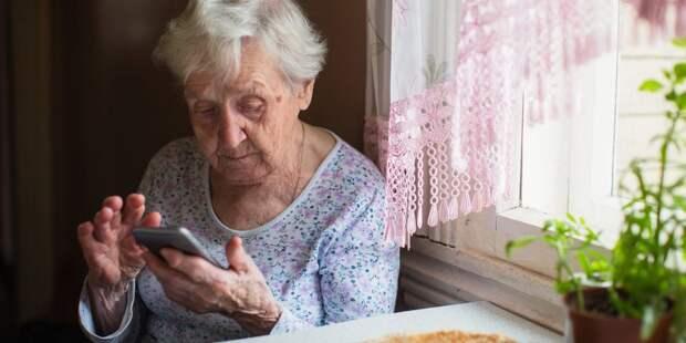 Мэр призвал пенсионеров оставаться дома / Фото: mos.ru