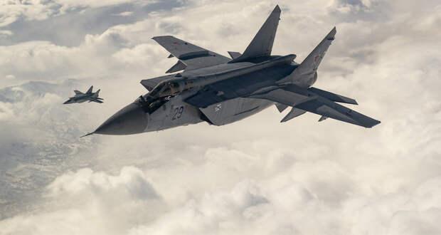 Стратосферный бой МиГ-31 показали навидео