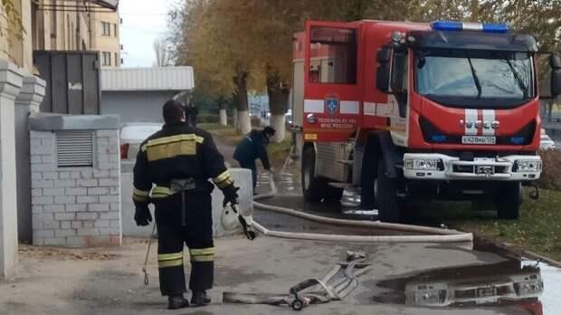 В Волгограде из-за пожара в многоэтажке спасатели эвакуировали 50 человек