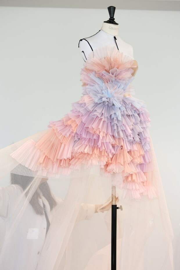 Платье из коллекции Ralph & Russo 2019/2020 Couture