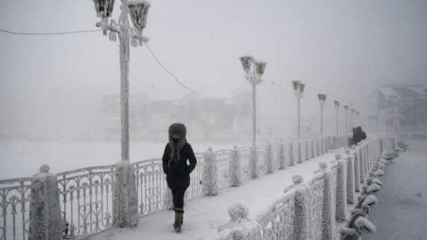 Самые холодные места в Германии и на Земле