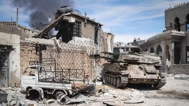 Сирия: правительственные войска готовятся к освобождению провинции Даръа