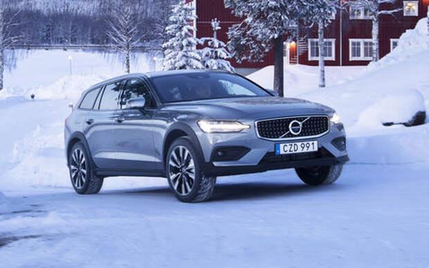 Новая версия Volvo V60 Cross Country для России: первый показ