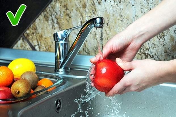 5 продуктов, которые нельзя мыть перед приготовлением, и 5 - которые нужно