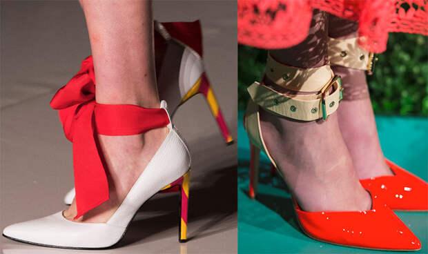 Красивые туфли на каблуке 2018 и тенденции будущего