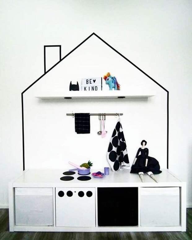 Домики  в детской комнате (4)